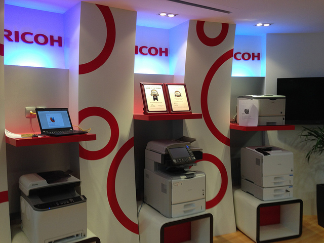 Webconverger printing with Ricoh printers