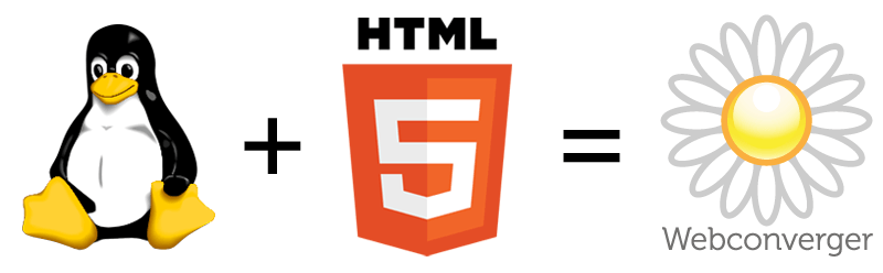 Linux + HTML5 = Webconverger